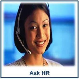 Ask HR - Click Here