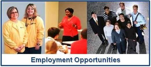 Employment Opportunities - Click Here