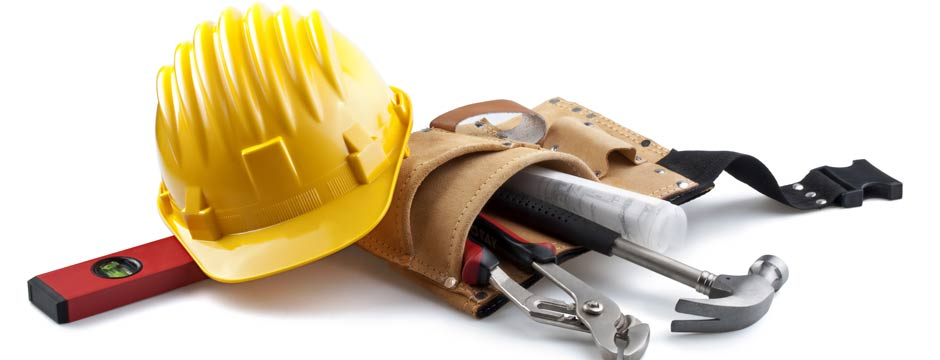 Contractor tools for Contractors needed to build a house