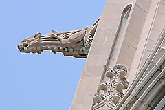 University Hall tower detail