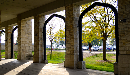 Archways on Main Campus
