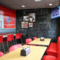 Dominos Dining Area