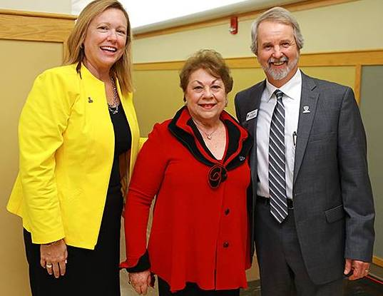President Gaber, Judy Herb and Dean Witte