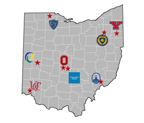 Colleges In Ohio Map Toledo Transition (T2) Program