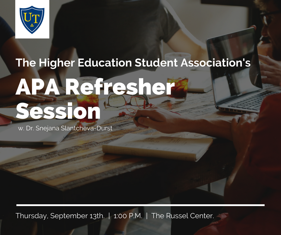 APA Refresher Session