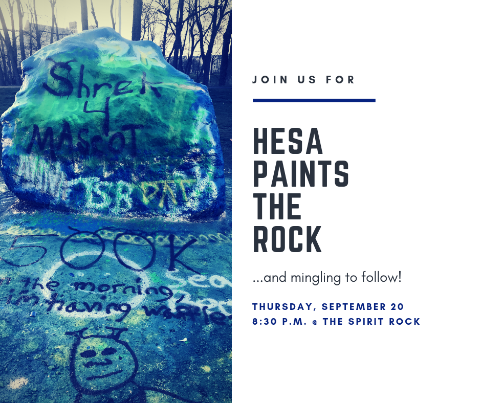 HESA Paints the Rock