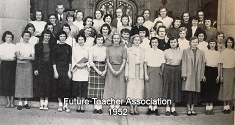 Future Teachers of America - 1952