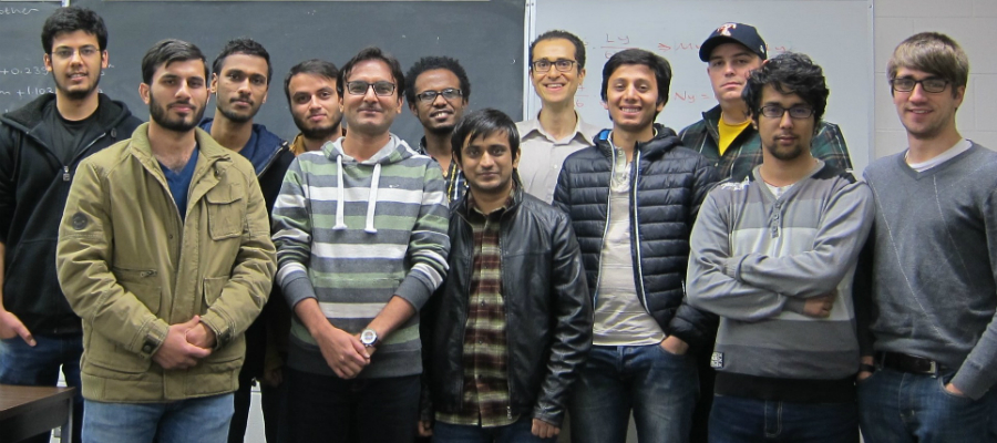 Computer-Aided Analysis Class (Graduate, November 2016)