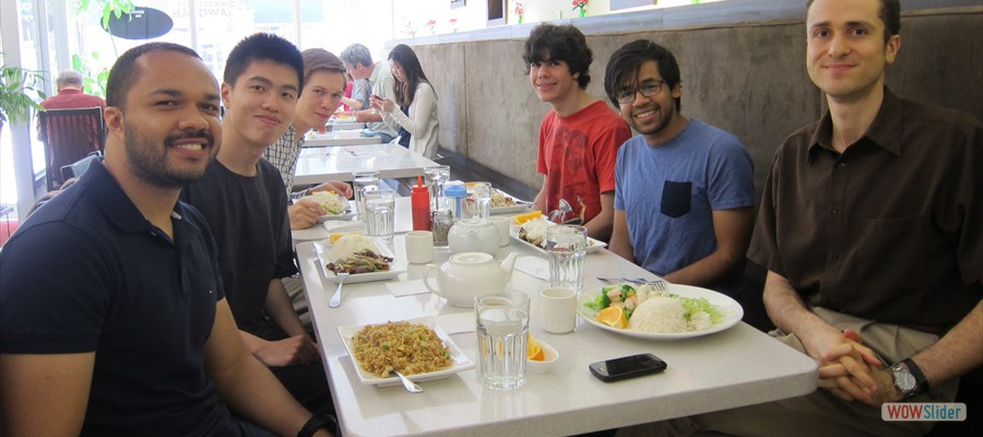 Research Team Lunch Meeting (July 2015)