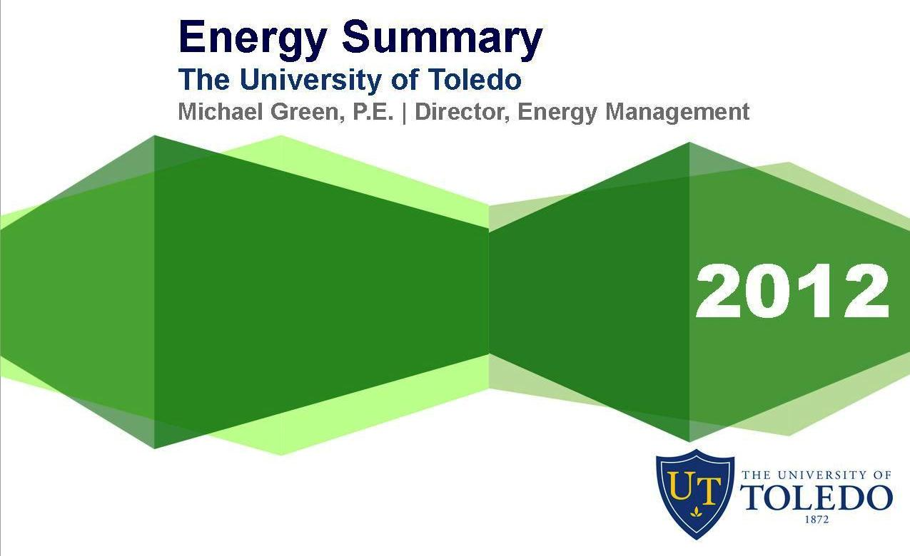 Click here to access the FY2012 Energy Summary