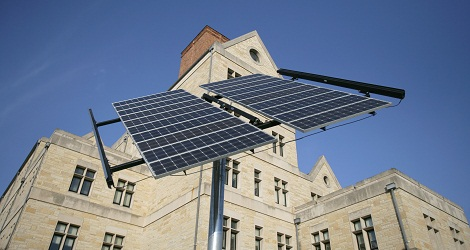 Solar Array at McMaster Hall