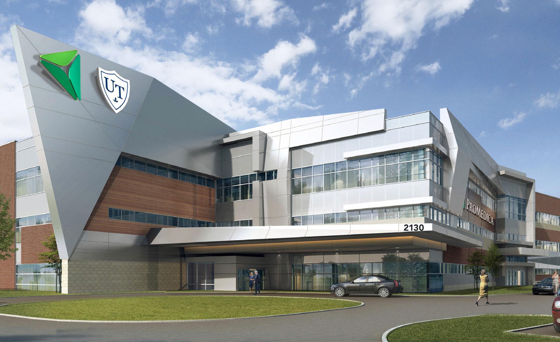 photo of new Neurosciences Center