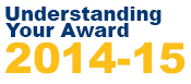 Understanding Your Award 2014-15