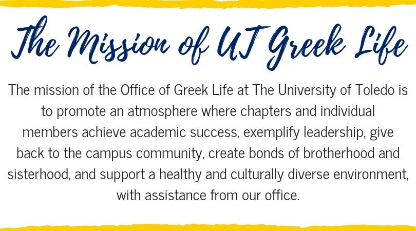 The UT Greek Life Mission