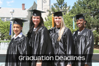 Graduation and Completion Deadlines and Details