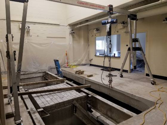 MAIN Lab Construction 2019