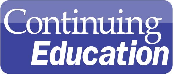Image text reads Continuing Education