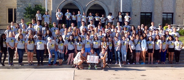 Youth Nations group shot