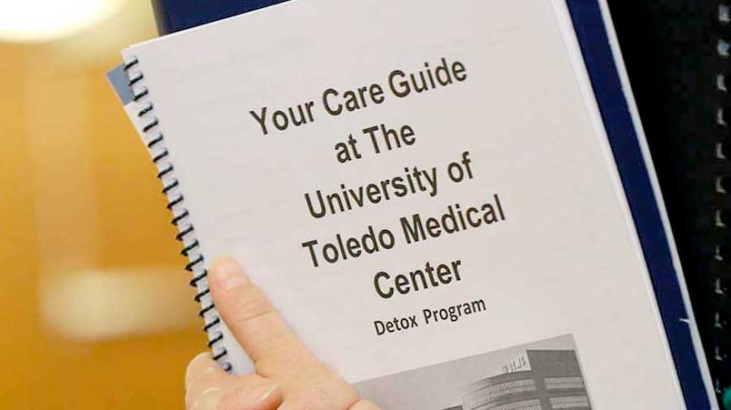Photo of UTMC Booklet