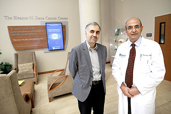 Dr. Mohammad Elahinia, left, and Dr. Ishmael Parsai