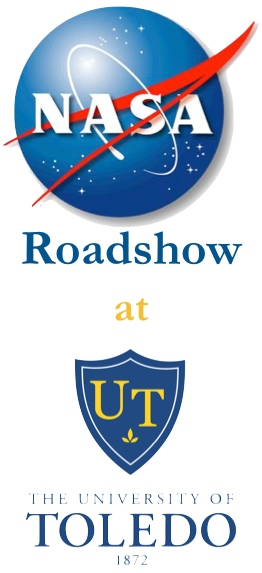 NASA Roadshow at UT Logo