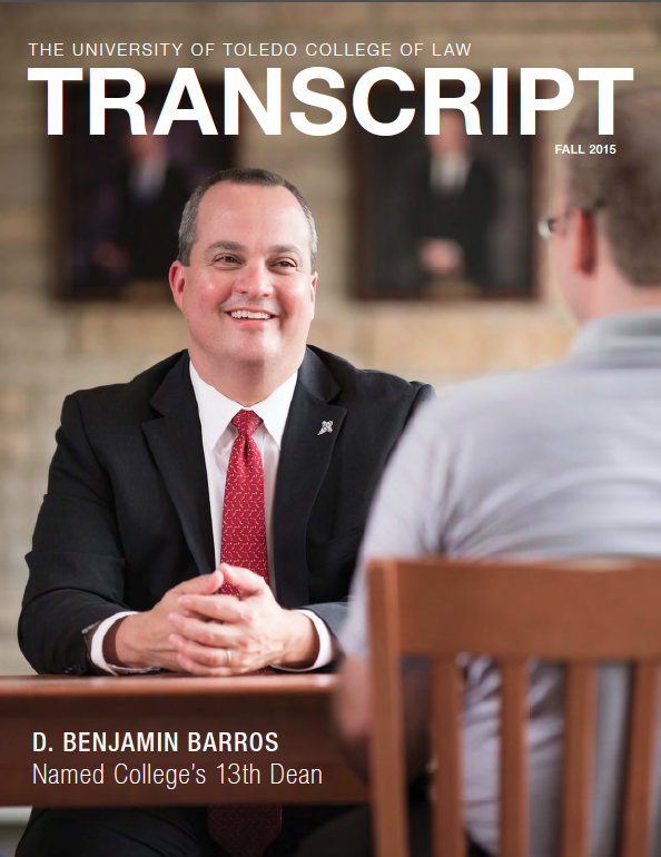 Transcript Cover Fall 2015