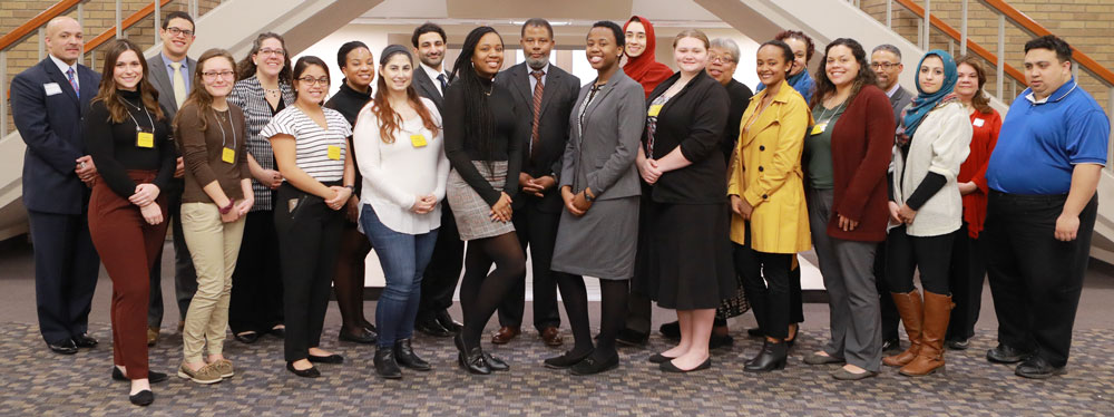 Launch into Law students and mentors