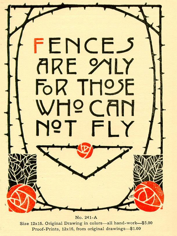 Typography Arts And Crafts Movement