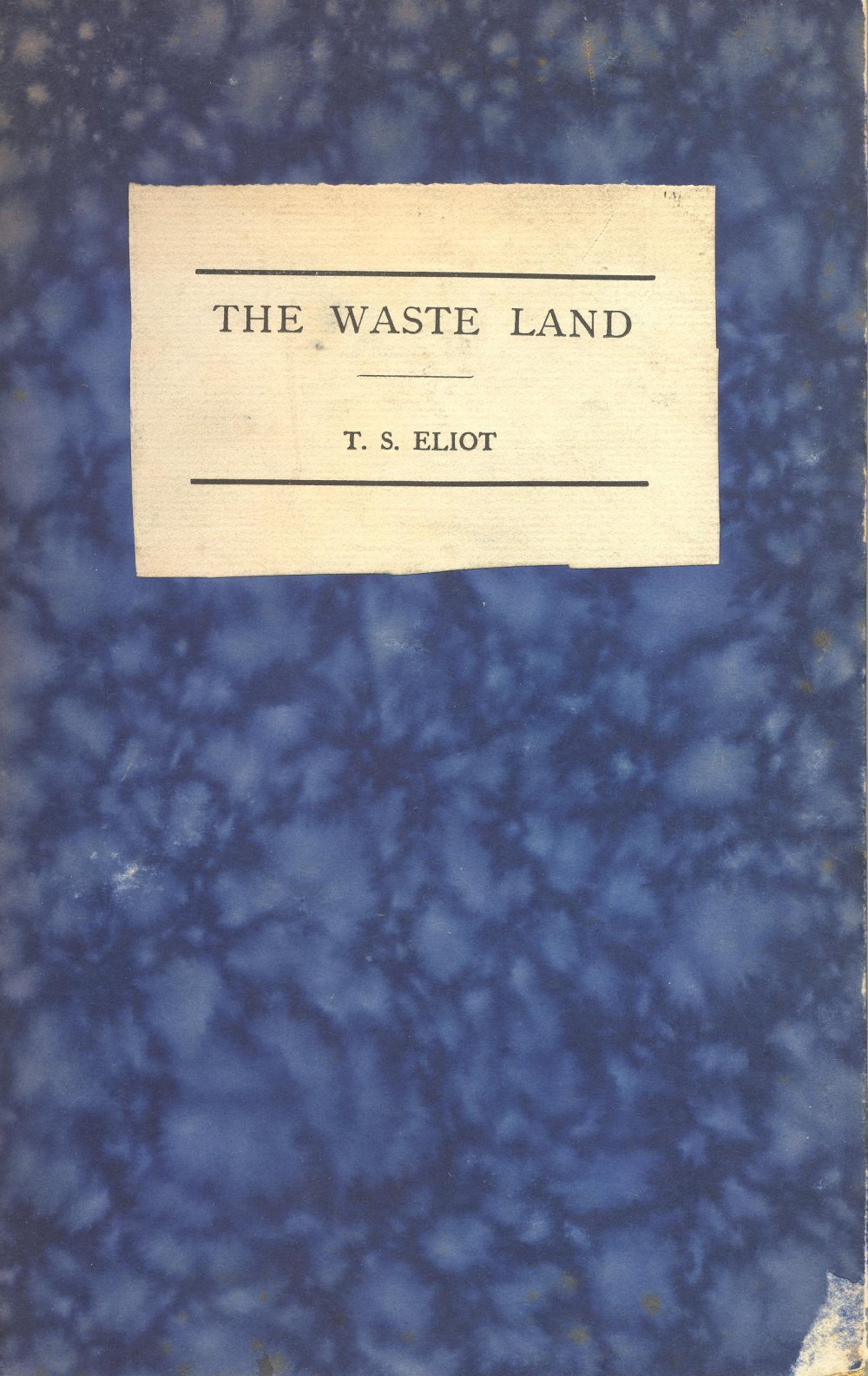 The Waste Land, by T.S. Eliot