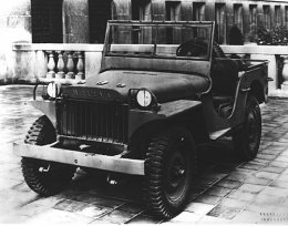 1941 Willys MA, Ward M. Canaday Collection, MSS 072