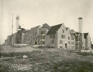 University Hall Construction