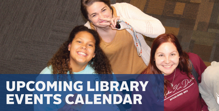 Upcoming Library Events