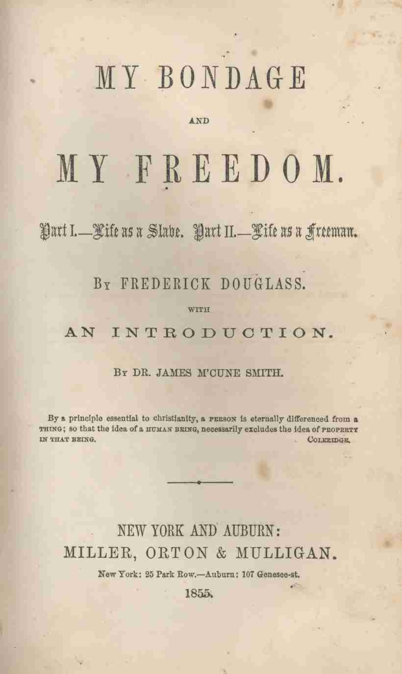 thesis statement about frederick douglass Struggling with the themes of frederick douglass's narrative of the life of frederick douglass we've got the quick and easy lowdown on them here.