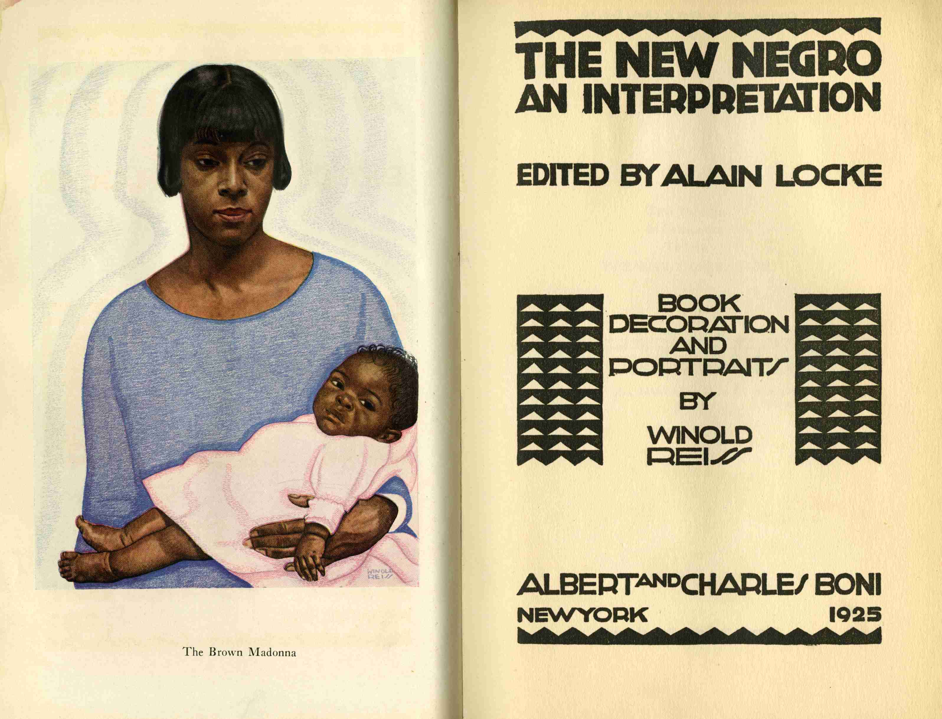"alain locke the new negro essay In locke's essay ""the new negro,"" he explains contrasts between the old and new negro the old negro, a reflection of slavery, southern prejudices, and the civil war, must be done away with locke explains, ""the old negro was a creature of moral debate and historical controversy"" (2."