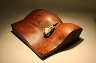 Hills with Spring  (Walnut and Bronze)
