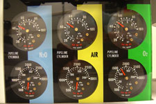 Equipment Dial Readout Picture