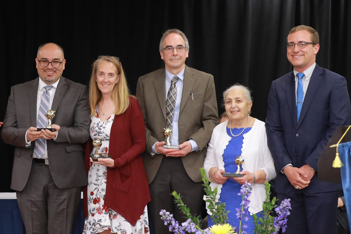 photo of Golden Apple Teaching Award Recipients