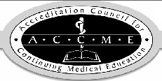 Logo for Accredittion council for continuing medical education