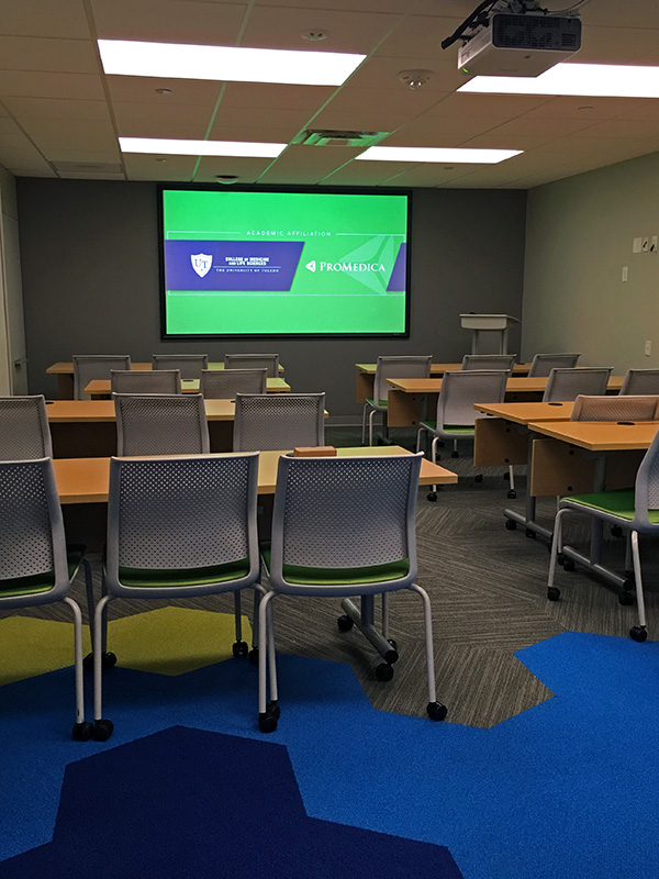 Academic Affiliation Learn Space at Toledo Hospital