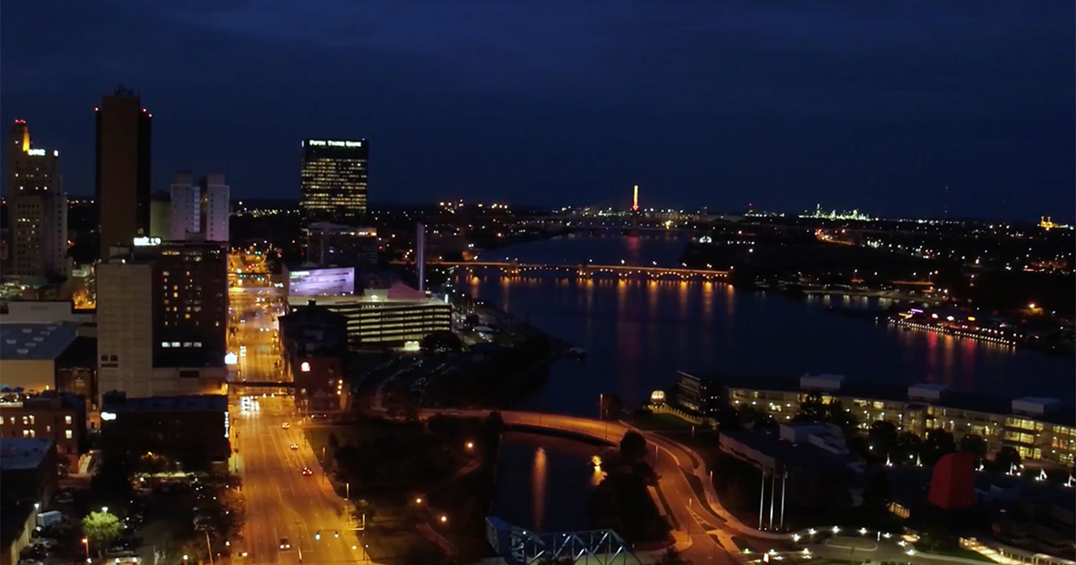 Downtown Toledo Skyline