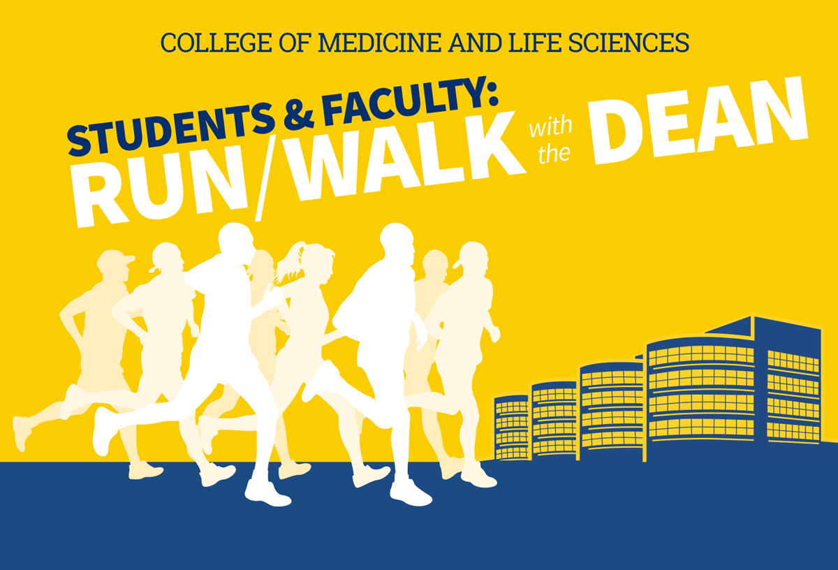 Students: Run with the Dean