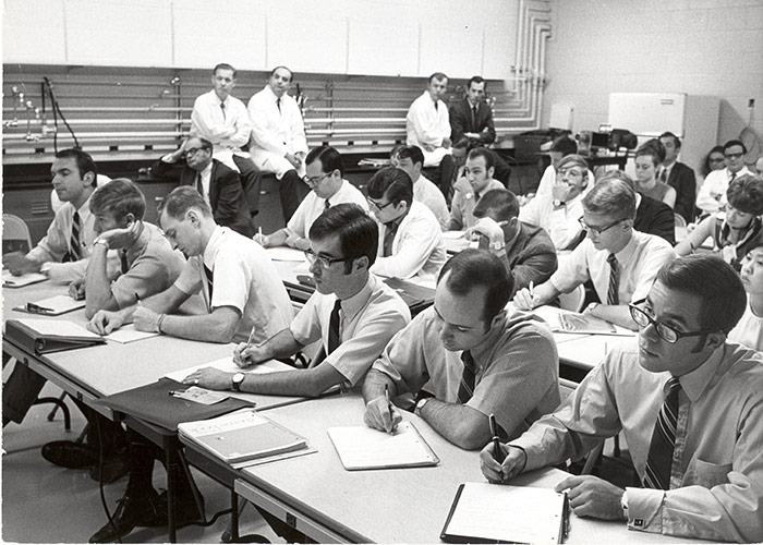 First class of medical students in 1969