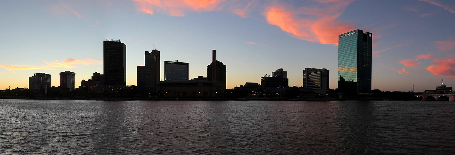 Photo of Downtown Toledo skyline