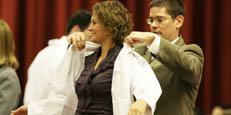 white coat ceremony for medical students