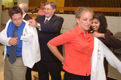 Medical Student white coat ceremony