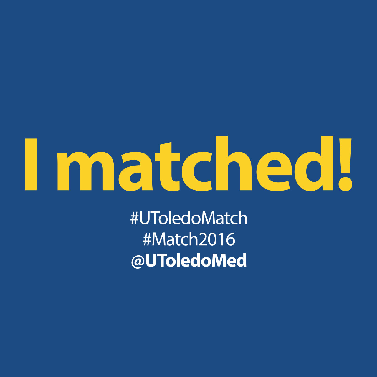 Match Day 2016 social media image