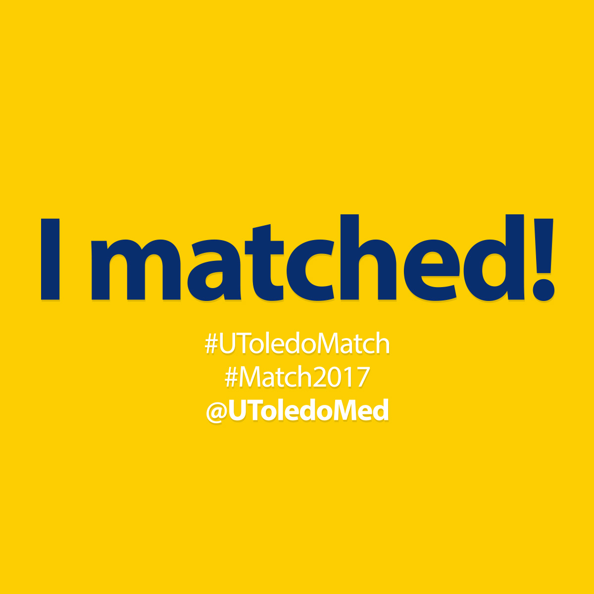 Match Day 2017 social media image