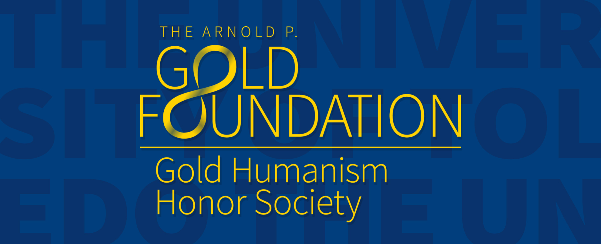 Logo for Gold Humanism Honor Society