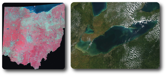 Remote Sensing Lake Erie