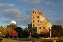 McMaster Hall and Ritter Observatory